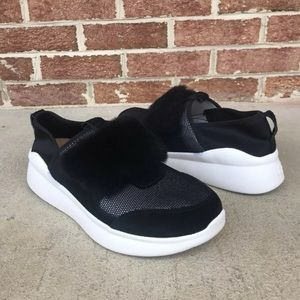 UGG Pico Neoprene Sneakers Black White Size 9